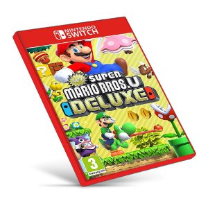 New Super Mario Bros. U Deluxe - Nintendo Switch - Mídia Digital