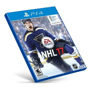 NHL 17 - PS4 - Mídia Digital