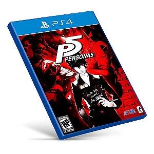 Persona 5 - Ps4 - Mídia Digital