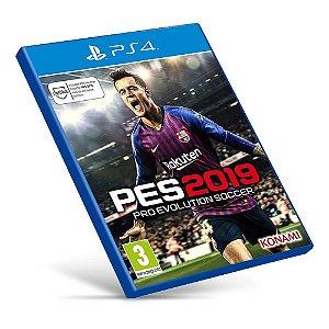 PES 2019: Pro Evolution Soccer - PS4 - Mídia Digital