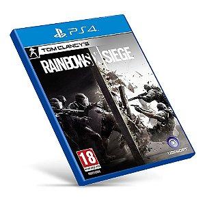 Rainbow Six Siege - PS4 - Mídia Digital