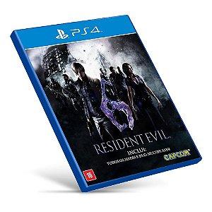 Resident Evil 6 - PS4 - Mídia Digital
