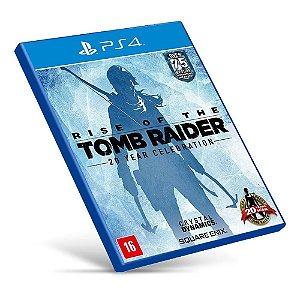 Rise of the Tomb Raider - PS4 - Mídia Digital