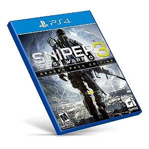 Sniper: Ghost Warrior 3 - Ps4 - Mídia Digital