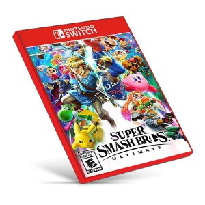 Super Smash Bros. Ultimate - Nintendo Switch - Mídia Digital
