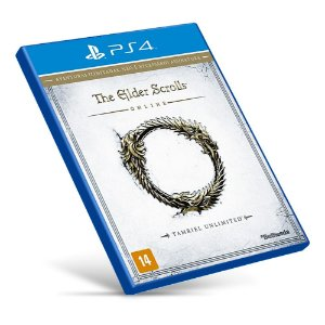 The Elder Scrolls Online: Tamriel Unlimited - PS4 - Mídia Digital