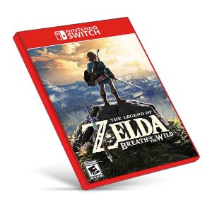 The Legend of Zelda: Breath of the Wild - Nintendo Switch - Mídia Digital