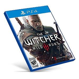 The Witcher 3: Wild Hunt - PS4 - Mídia Digital