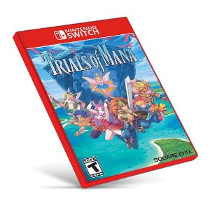 Trials of Mana - Nintendo Switch - Mídia Digital