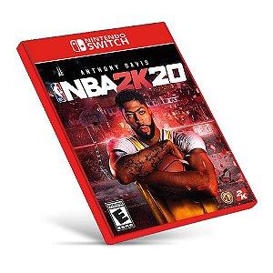 NBA 2K20 - Nintendo Switch - Mídia Digital