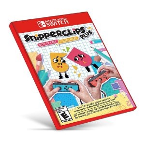 Snipperclips - Cut it out, together! - Nintendo Switch - Mídia Digital