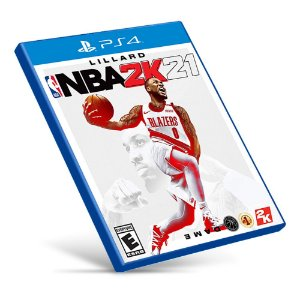 NBA 2K21 - PS4 - Mídia Digital