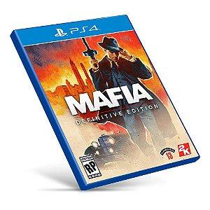 Mafia: Definitive Edition - PS4 - Mídia Digital