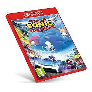 Team Sonic Racing - Nintendo Switch - Mídia Digital