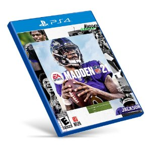 Madden NFL 21 - PS4 - Mídia Digital