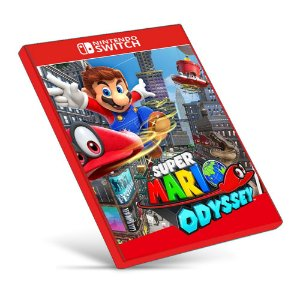 Super Mario Odyssey - Nintendo Switch - Mídia Digital