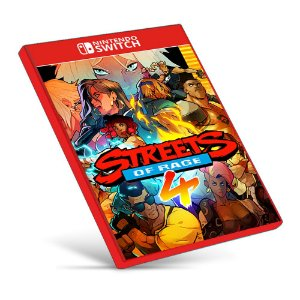 Streets of Rage 4 - Nintendo Switch - Mídia Digital