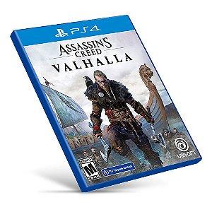Assassin's Creed Valhalla - PS4 - Mídia Digital