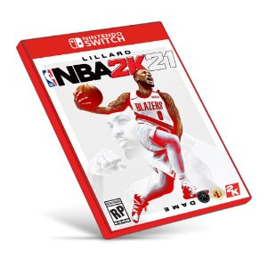 NBA 2K21 - Nintendo Switch - Mídia Digital