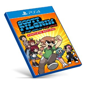 Scott Pilgrim vs The World: The Game Complete Edition - PS4 - Mídia Digital