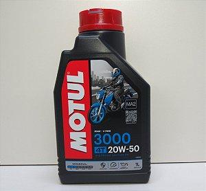 OLEO PARA MOTOR 3000 20W50