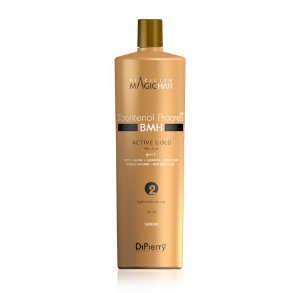 Active Gold No Frizz Vit B5 D'Pantenol Progress –Progressiva –Passo 2 - 1000 Ml DiPIerry Profissional