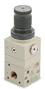 Regulador de pressão de precisão GS Metal Work