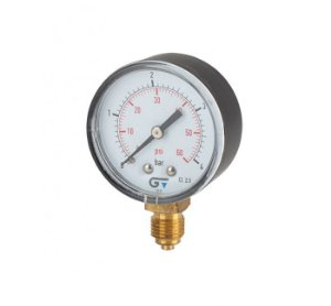 Manômetro DN 53 ABS Seco Vertical BSP 3820 Genebre