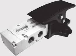 Válvula Pedal sem Proteção Série 70 1/4 Metal Work