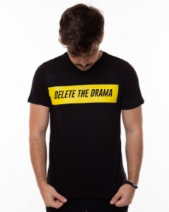 T-shirt Delete The Drama Masculina