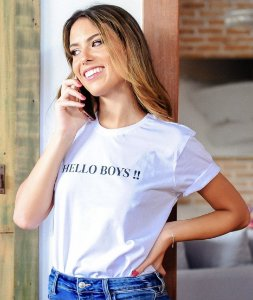 T-shirt Hello Boys