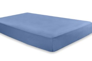 Lençol Azul Avulso - Malha 100% Algodão