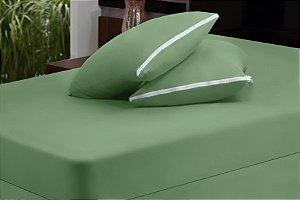 Capa de Colchão com Zíper - Verde