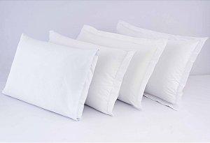 Fronha Avulsa Percal 400 fios 100% algodão acetinado - Branco