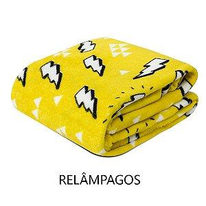 Mantinha Soft Fleece Premium 2,0 x 1,8m - Relâmpagos