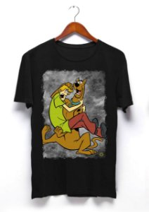 Camisa Scooby-Doo - Preta