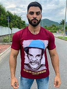 Camisa - Seu Madruga - Vinho