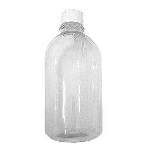 Frasco Garrafa De Plástico 500 Ml Liso Com Tampa
