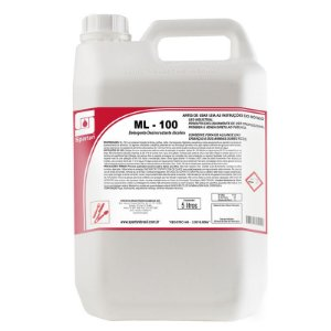 Ml-100 5 Litros Detergente Desincrustante Spartan