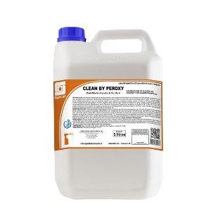 Clean By Peroxy 5 Litros Desinfetante Limpador de Uso Geral