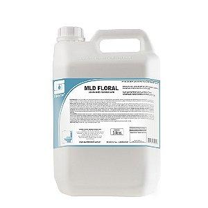 MLD Floral 5 Litros Limpador Desinfetante Concentrado De Uso Geral - Spartan