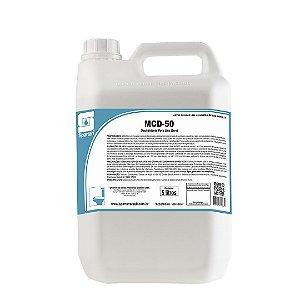 MCD-50 5 Litros Limpador Com Ação Bactericida - Spartan