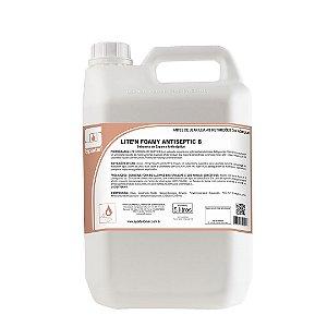 Lite'n Foamy Antiseptic B 5 Litros Sabonete De Espuma Antisséptico Biguanida - Spartan