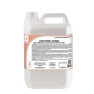 Lite'n Foamy Antibac 5 Litros Espuma Antisséptica Álcool e Biguanida - Spartan