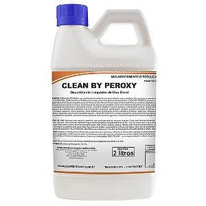 Clean By Peroxy 2 Litros Desinfetante e Limpador de Uso Geral - Spartan