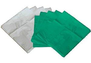 Saco de Lixo 20 Litros Verde/Branco C/ 100 Unidades
