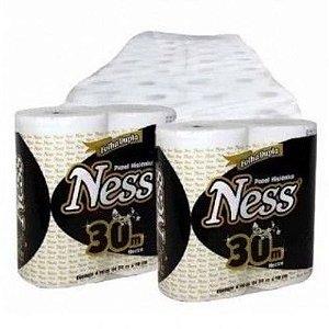 Papel Higiênico Ness Folha Dupla Pacote Com 64 Rolos