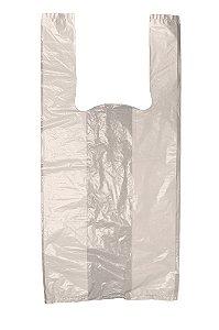 Sacola Plástica Bege - 48x58 cm