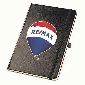 Caderno capa dura com bolso interior e 80 folhas não pautadas  120x180mm - 93727