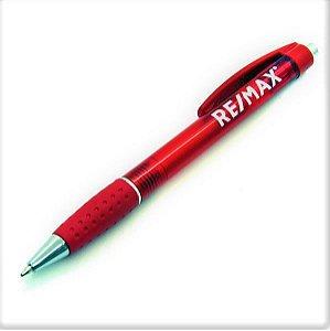 Caneta plástica vermelha RE/MAX - 300B (10un)